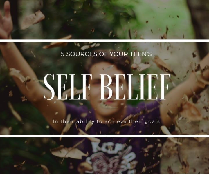The 5 Sources Of Your Teen's Self Efficacy